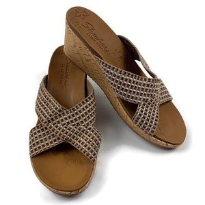 skechers relaxed step luxe foam sandals